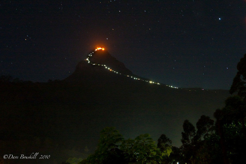 Adam's Peak Pilgrimage – A Photostory from Sri Lanka