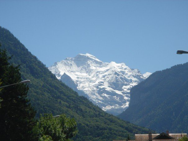 vacation photo of the Swiss Alps