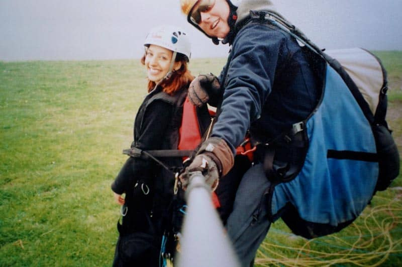 adventure travel austria paragliding