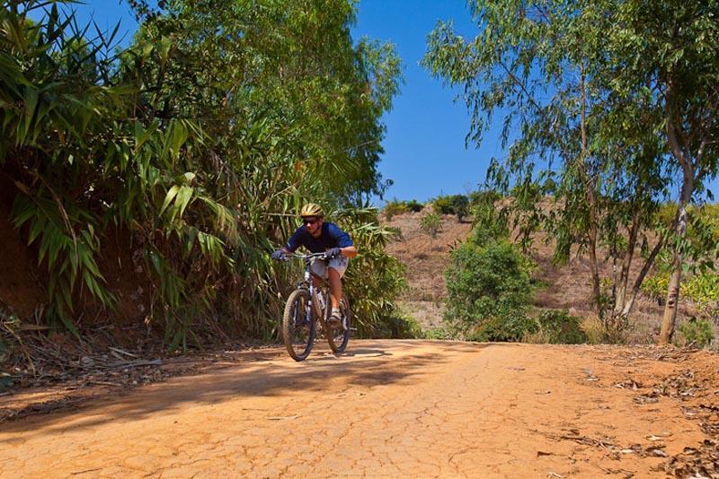 dave riding a bike in thailand