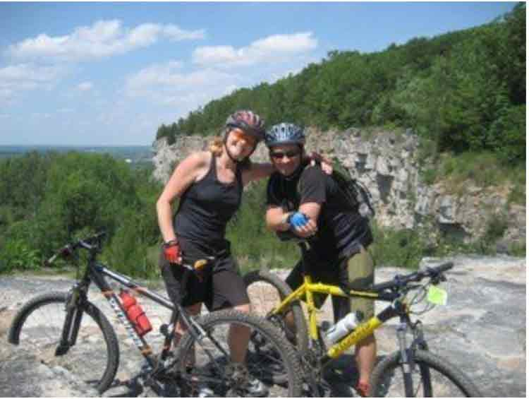 mountain biking ontario