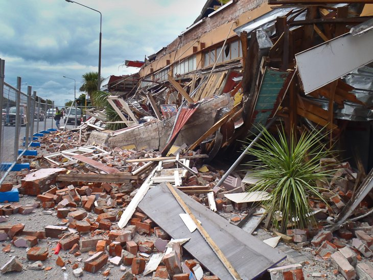 aftershocks in christchurch building