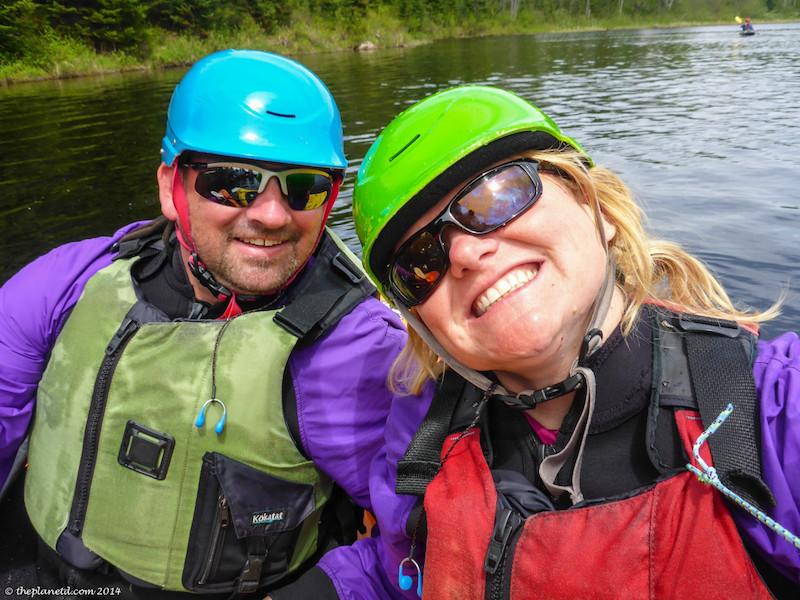 aging gracefully with thin optics kayaking