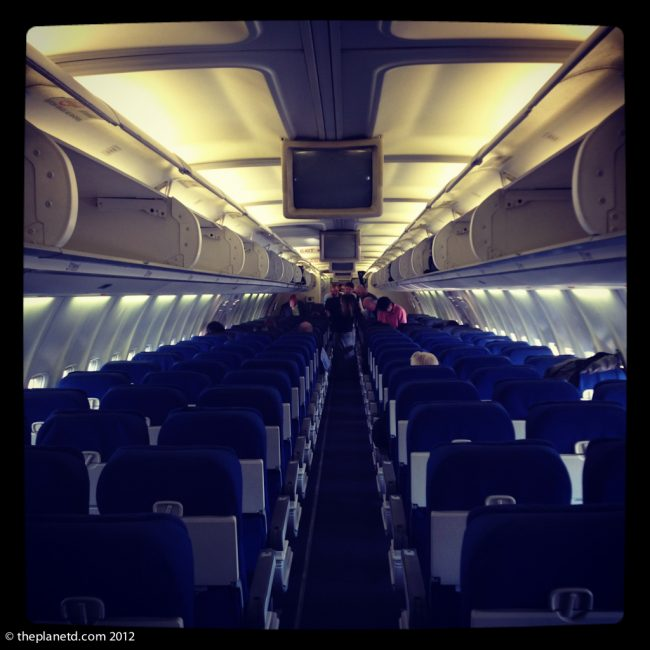 airline aisle