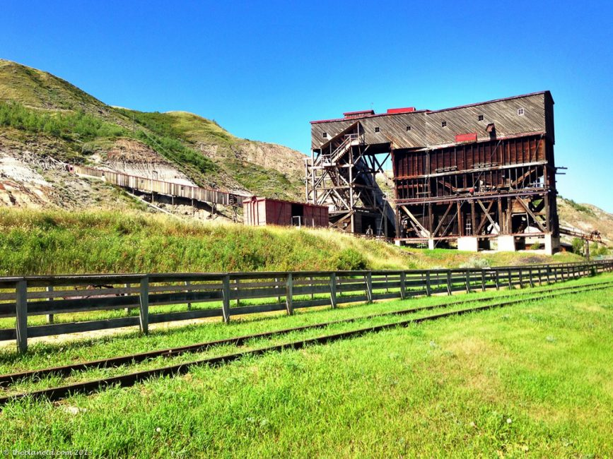 Atlas Coal Mine Alberta Road Trip