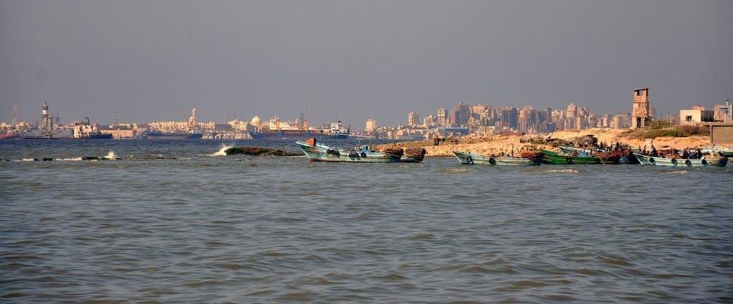 alexandria egypt waterfront