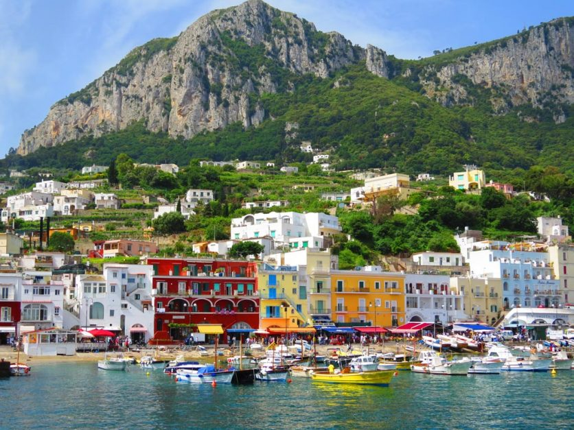 day trip from amalfi coast | capri