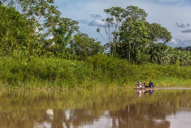 fishing on the amazon river peru