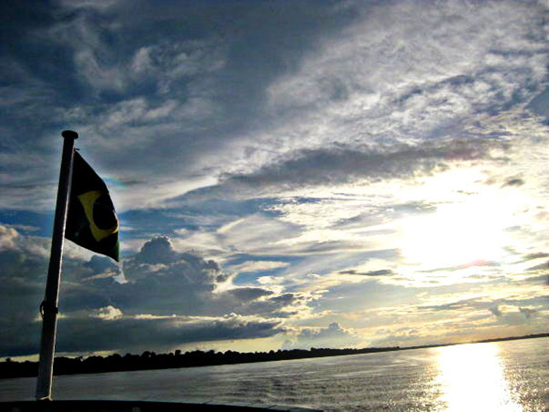 amazon river flag