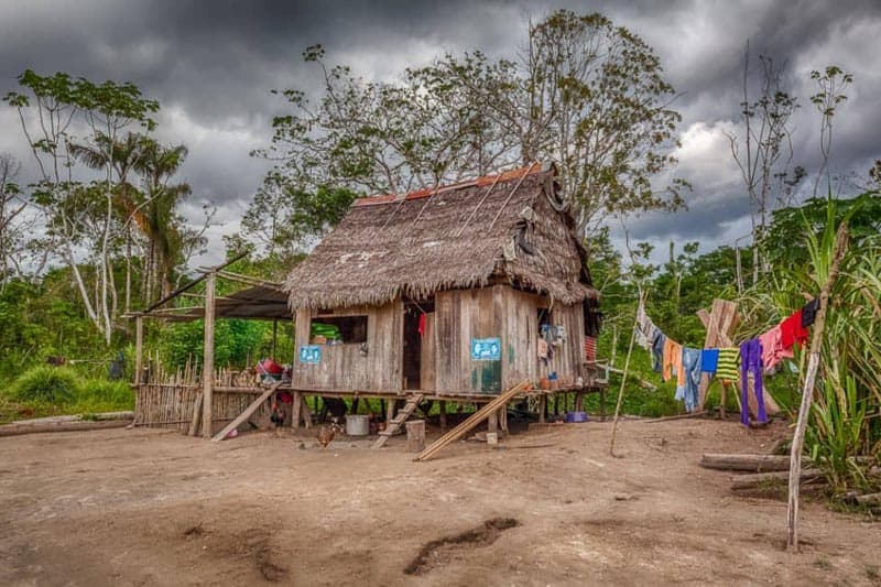 amazon river pictures village