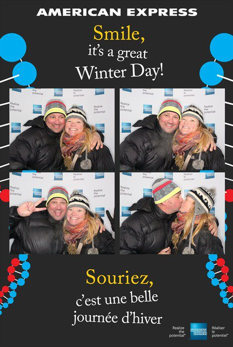 american express lounge at winterlude