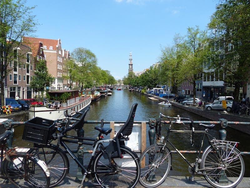 travel amsterdam with children