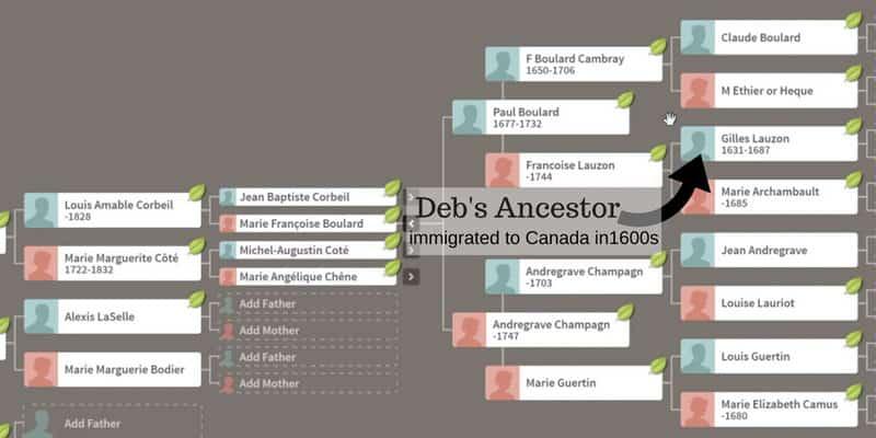 ancestrydna deb ancestors