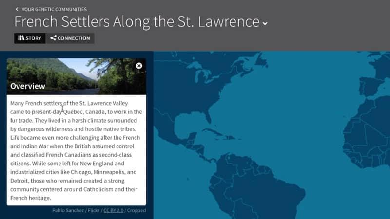 ancestrydna french settlers