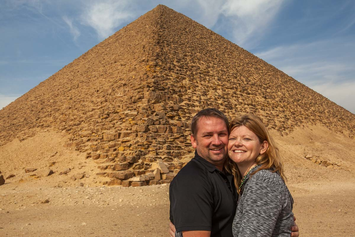 red pyramid of egypt