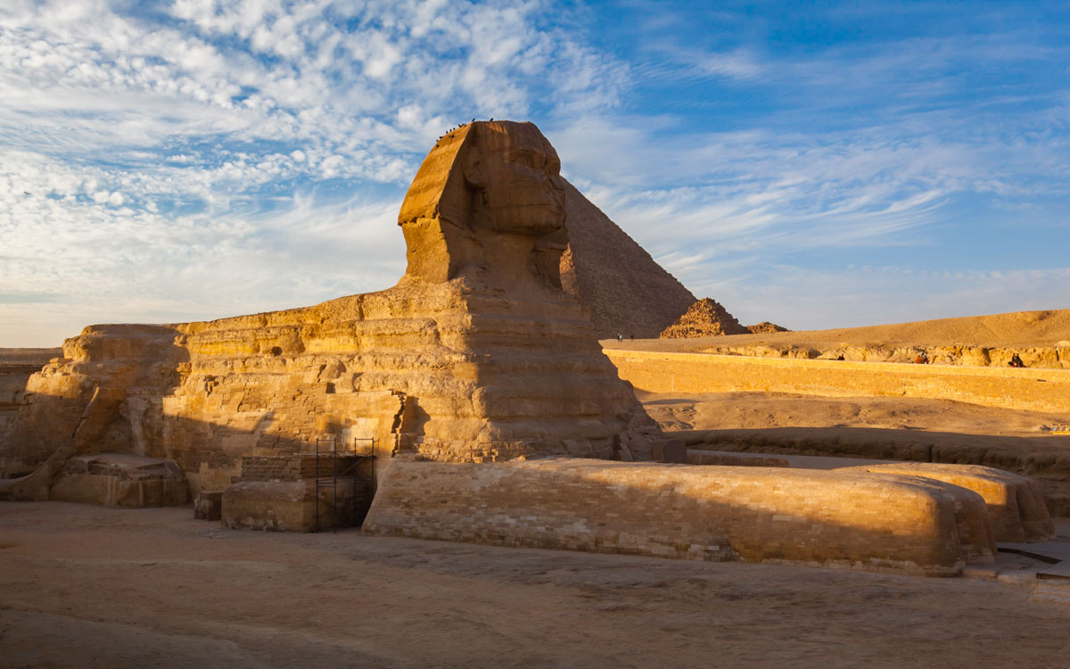 ancient ruins of egypt the sphinx