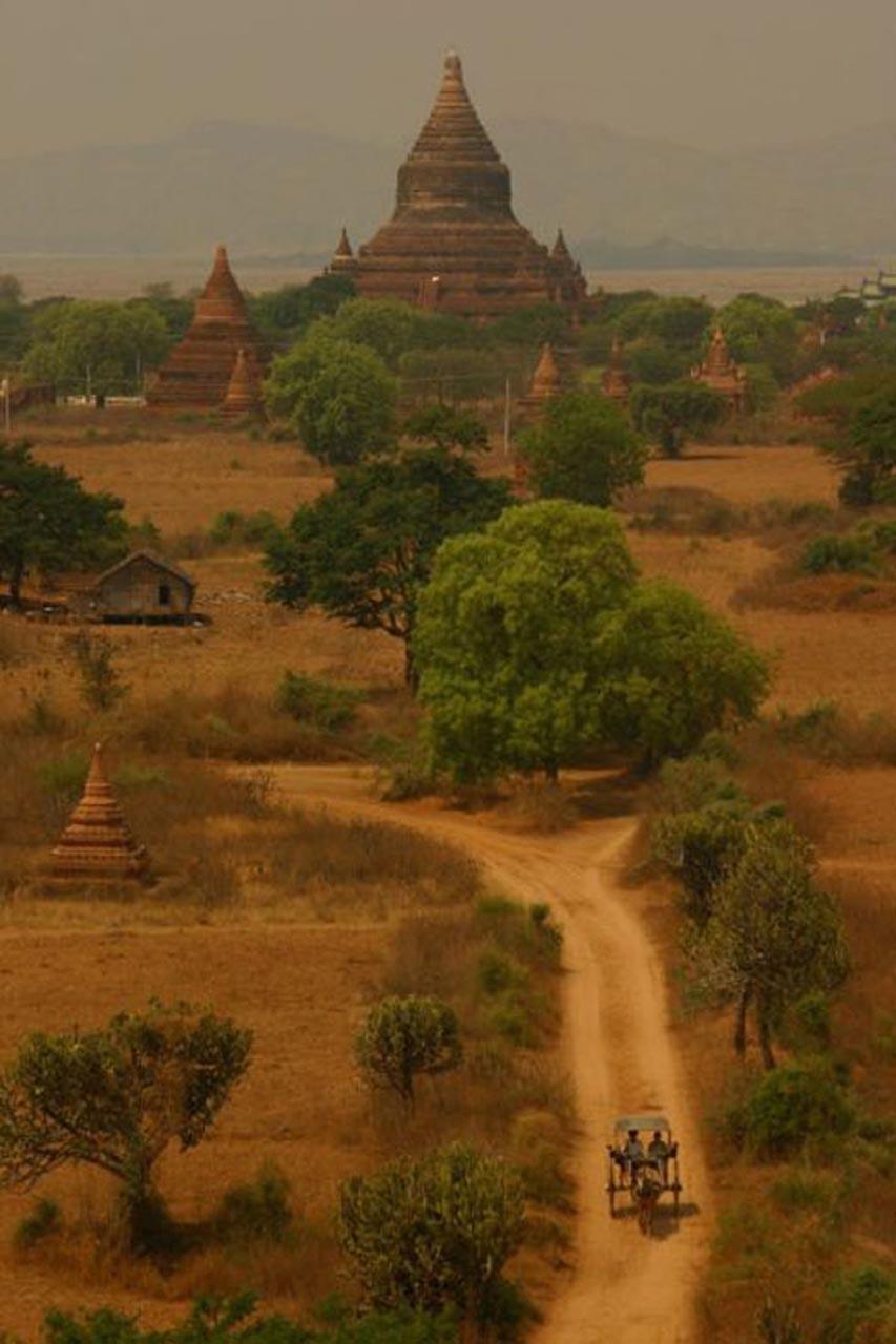 ancient city bagan myanmar