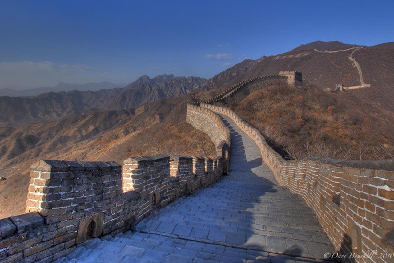 great wall of china ancient ruin