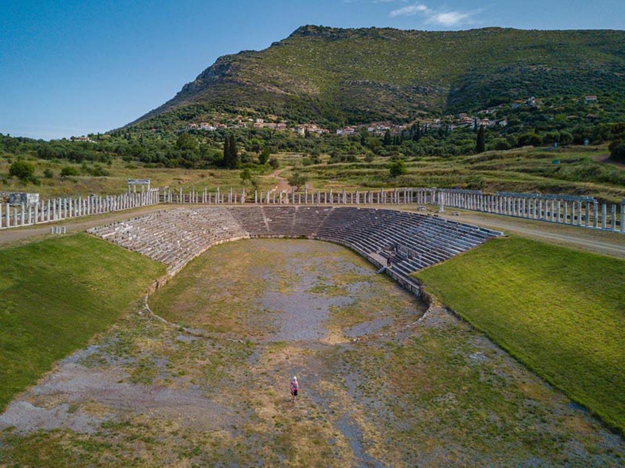 greek ruins messene