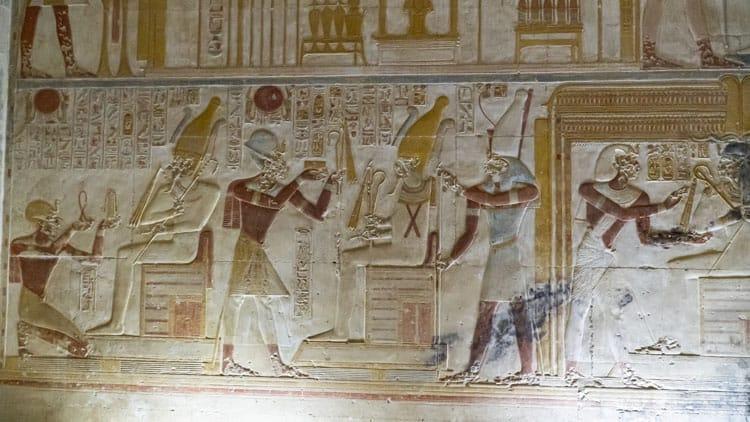 temples of egypt Seti I