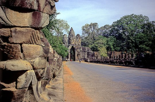 The Causeway of Angkor Tom at Angkor Wat