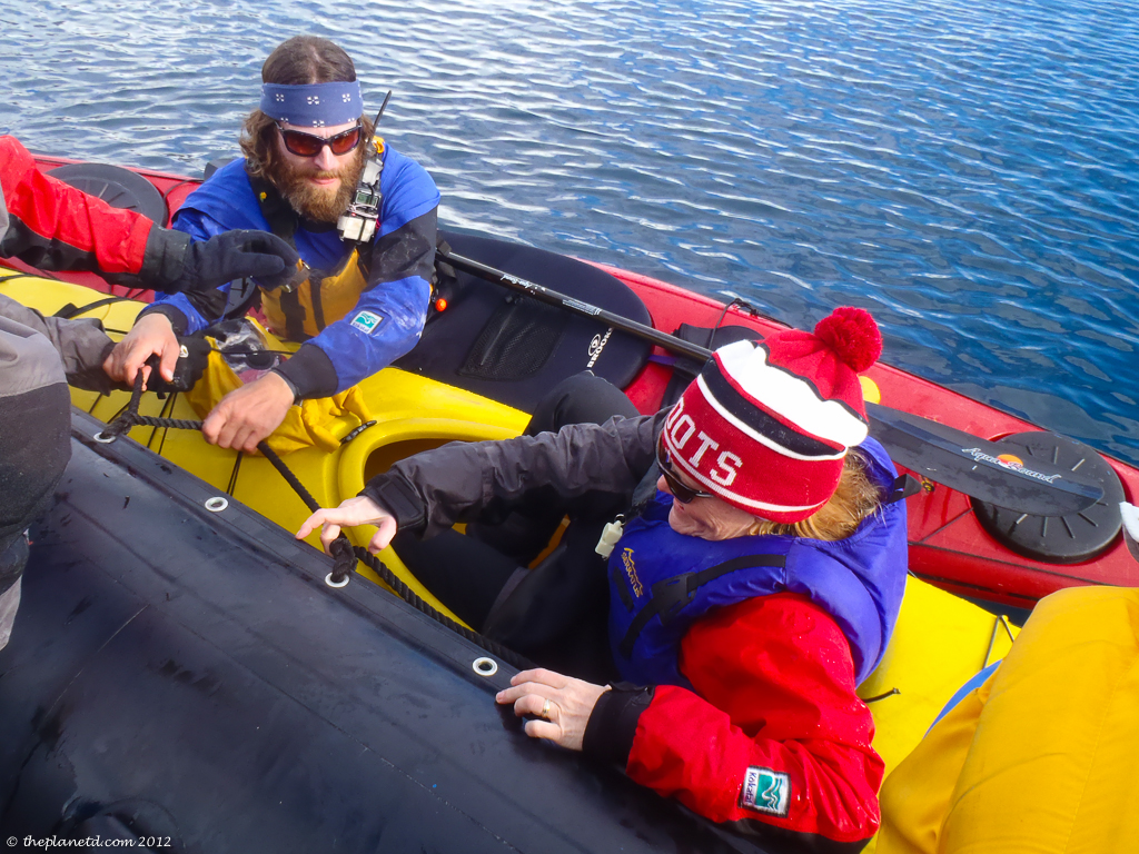 antarctica sea kayaking