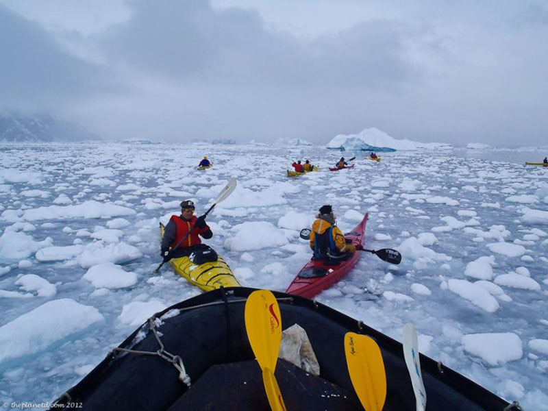 antarctica expedition kayaking