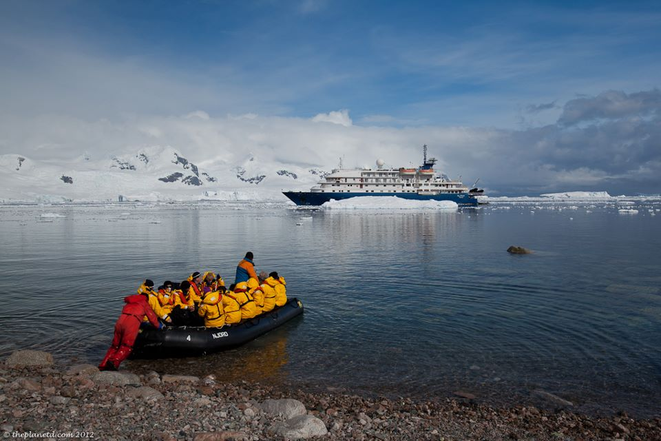 shore landings antarctica