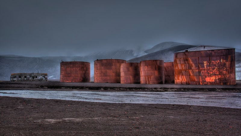antarctica tanks