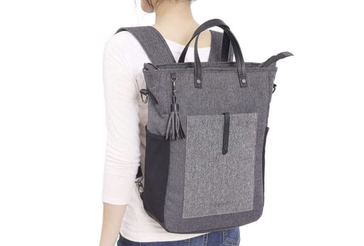 crossbody bag anti theft convertible backpack