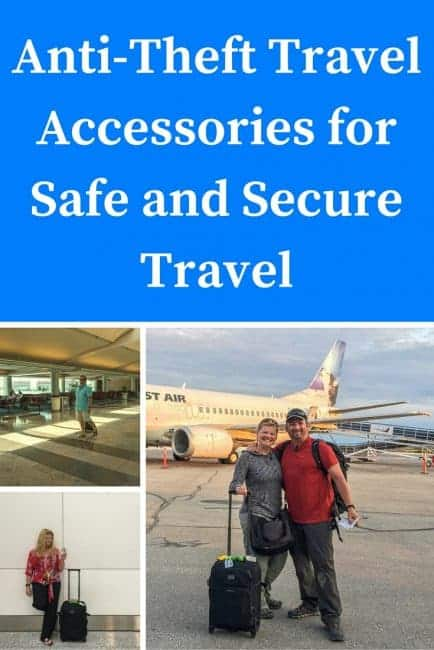 anti theft travel accessories