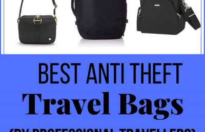 anti theft travel bags and travel purses
