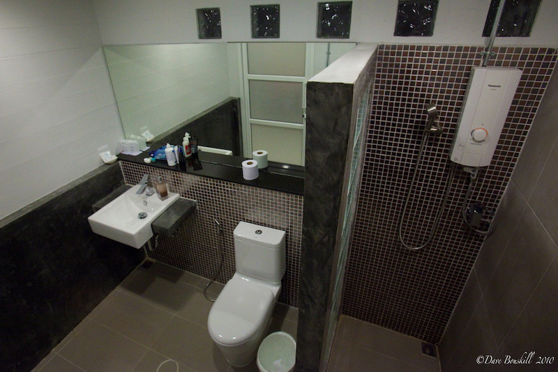 bathroom at resort