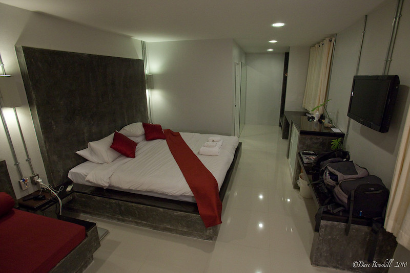 beds at paradise resort