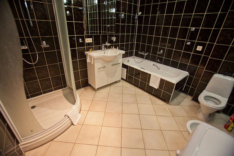 apartment rental kiev bathroom