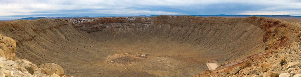 road trips in arizona | meteor crater