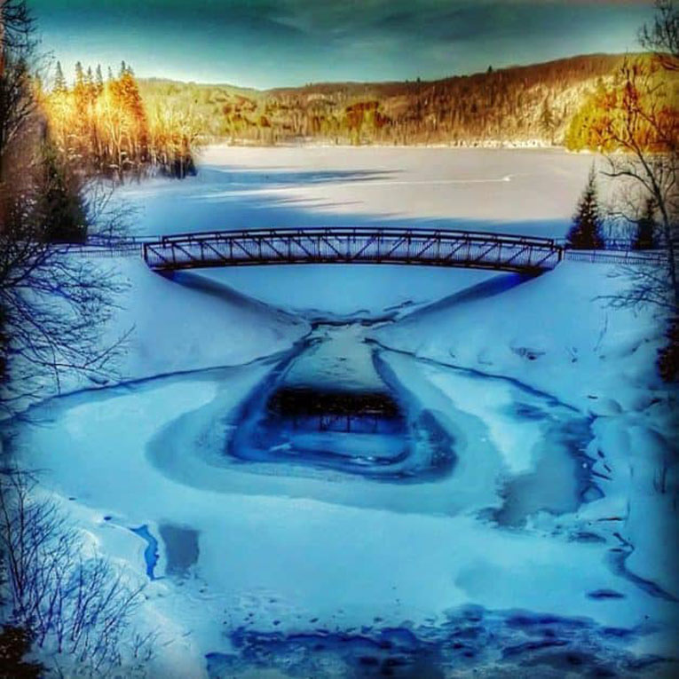 arrowhead provincial park bridge
