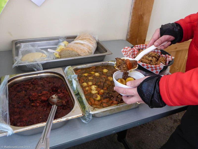 arrowhead provincial park food