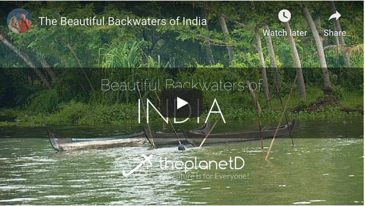 alleppey houseboat kerala backwaters video