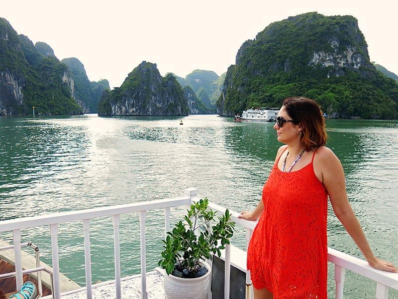 bai tu long bay cruise day boat