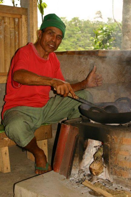 Roasting Coffee in Ubud