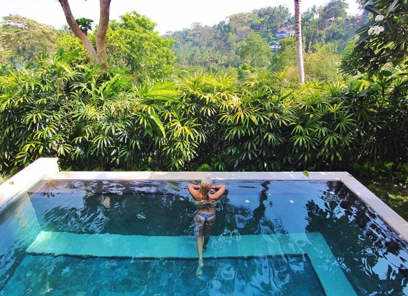 bali on a budget spas