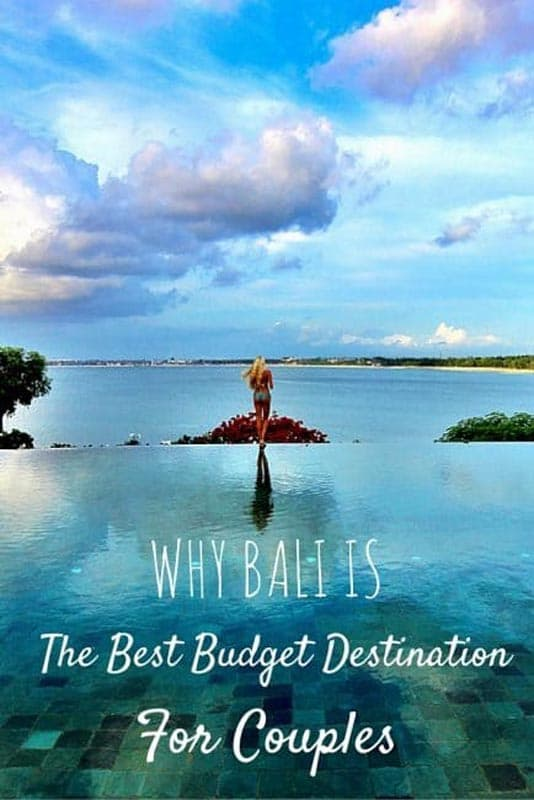 budget bali for couples