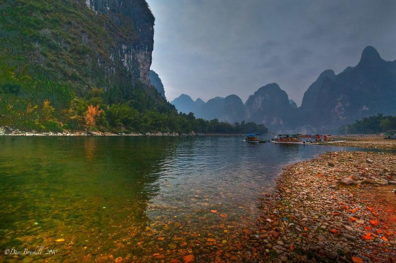Bamboo Rafting Down the Li River