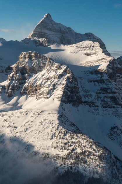 helicopter tours of banff | mountain views