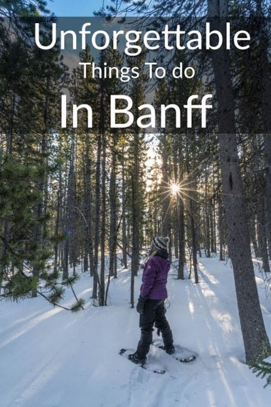 unforgettable things to to in Banff winter