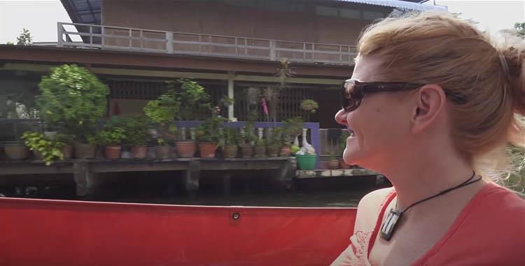 canal tour of Bangkok