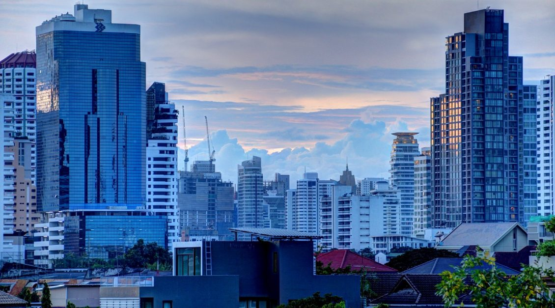 itinerary bangkok skyline