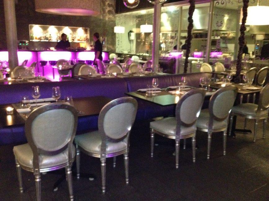 interior restaurant barcelona