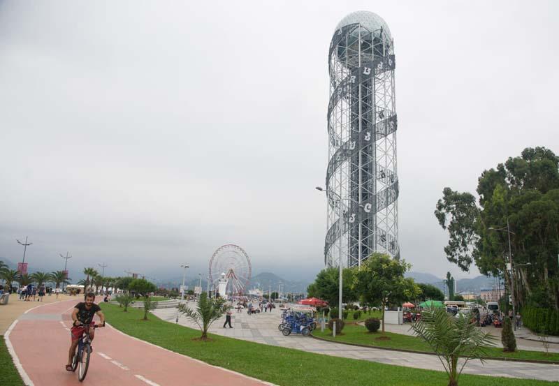 batumi boulevard | alphabet tower